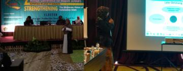 Dosen PBI Presentasi dalam Seminar AnCoMS 2018