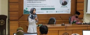 Menuju Kampus Merdeka, Prodi PBI Luncurkan Aplikasi Pembelajaran Blended Learning