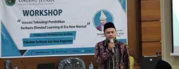 Menghadapi Era New Normal, PGSD UNISNU Jepara Adakan Workshop Teknologi Pendidikan