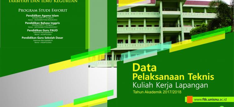 Buku Data Teknis Pelaksanaan KKL FTIK TA 2017/2018