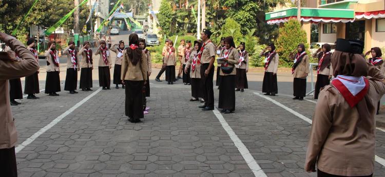 Gelar KMD, Prodi PGSD Siapkan Pembina Pramuka yang Cakap