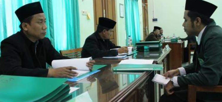 Pelaksanaan Munaqasah/Ujian Skripsi Gelombang Kedua Semester Genap TA. 2020/2021