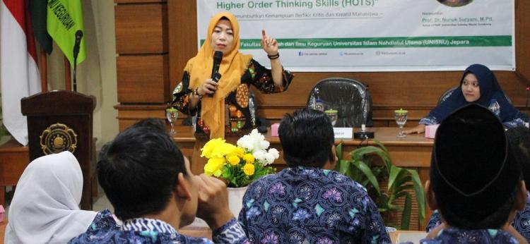 FTIK Unisnu Jepara Gelar Workshop untuk Tingkatkan Kompetensi Dosen